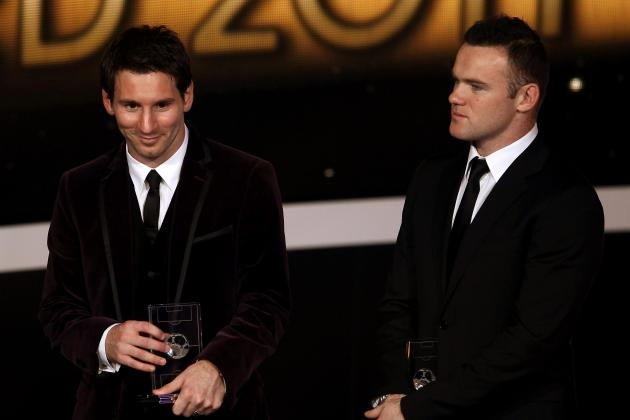 Wayne Rooney Rates Barcelona's Lionel Messi Above Madrid's Cristiano Ronaldo