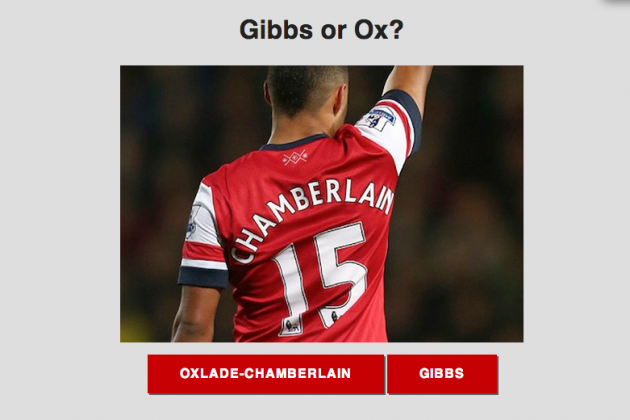 Andre Marriner's Kieran Gibbs/Alex Oxlade-Chamberlain Gaffe Sparks Website Game