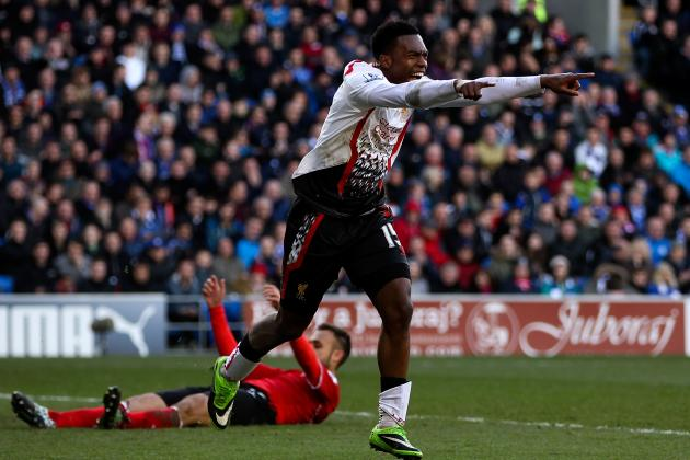 Brendan Rodgers Talks Timeline for New Daniel Sturridge Contract with Liverpool