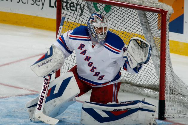 Rangers' Henrik Lundqvist Sets Franchise Record with 50th Career Shutout
