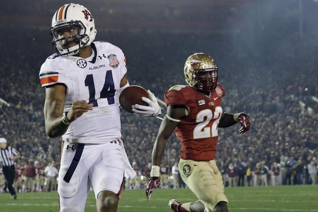OC Rhett Lashlee: Nick Marshall 'Talented Enough' to Play Quarterback in NFL