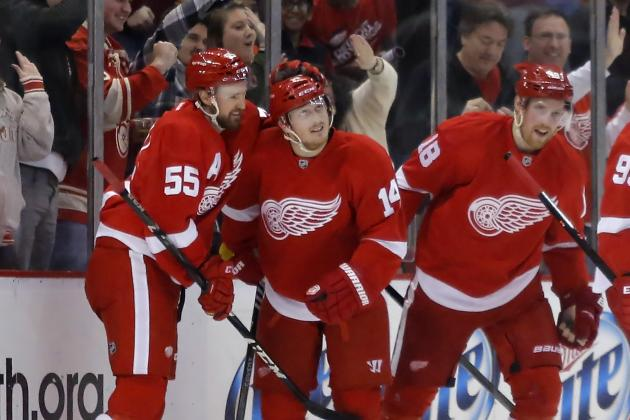 Detroit Red Wings' Future Is Bright Regardless of Playoff Chances