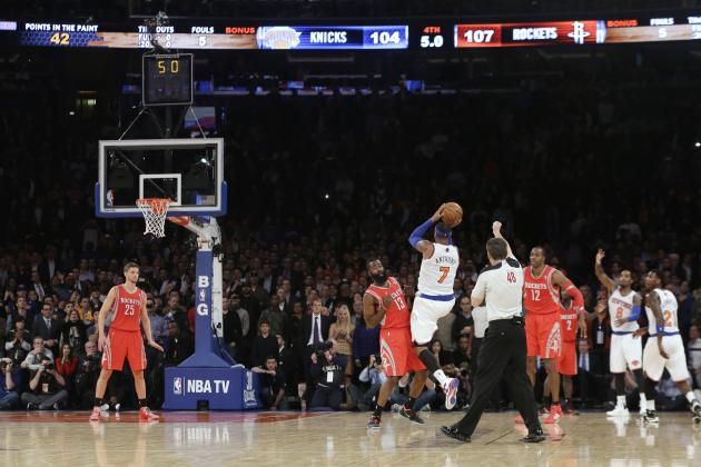 Imagining Houston Rockets' Lineup with Carmelo Anthony