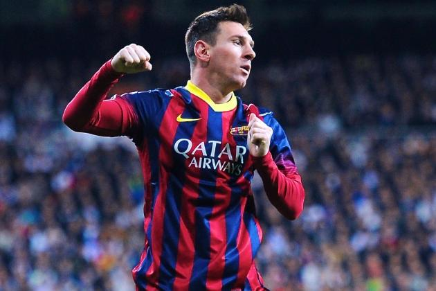 Lionel Messi Magic Papers over Barcelona Cracks in Heart-Stopping Clasico