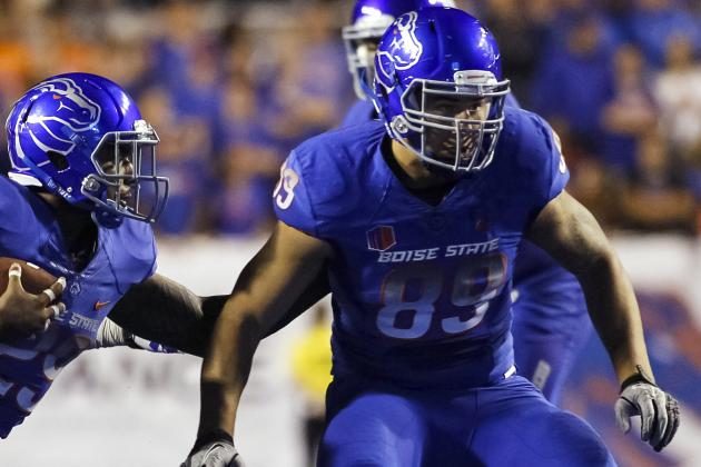 Boise State Tight Ends Plan to Contribute After Dismal Year