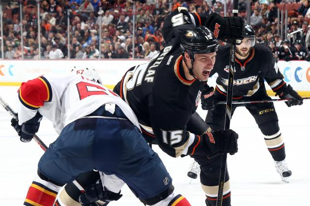 Ducks' Ryan Getzlaf Notches 600th Career NHL Point