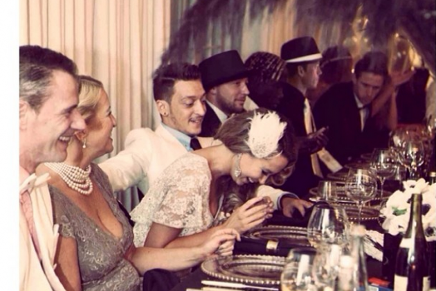 Arsenal Players Attend Great Gatsby-Themed Party After Chelsea Defeat