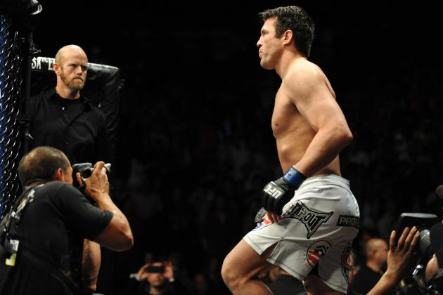 Chael Sonnen vs. Wanderlei Silva Official for Sao Paulo Venue on May 31