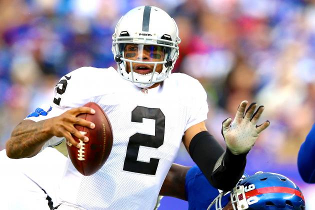 Terrelle Pryor: Latest News and Speculation Surrounding QB's Future with Raiders