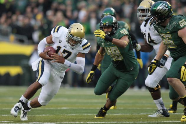 UCLA vs. Oregon: A Very Early Look at One Game That Will Determine Bruins' 2014