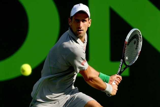 Breaking Down Novak Djokovic's Path to the Finals at Sony Open