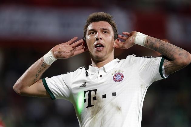 Bayern Munich's Mario Mandzukic Would Be a Perfect Fit for Real Madrid, But...