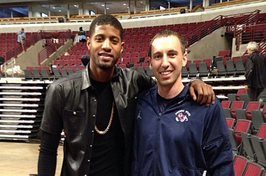 Paul George Sports Head-to-Toe Black Leather After Loss to Chicago Bulls