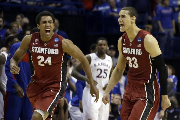 Dayton Flyers vs. Stanford Cardinal Betting Line, Sweet 16 Prediction, Analysis