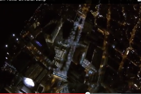 BASE Jumpers Caught After Parachuting off New York Freedom Tower