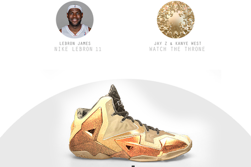 Designer Mixes NBA Stars' Signature Shoes with Rap Albums