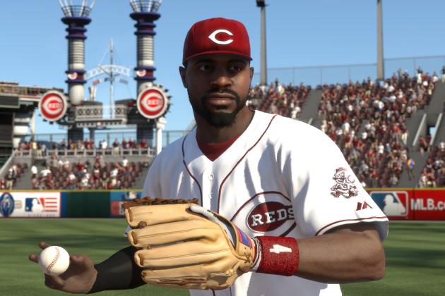 MLB 14 the Show: PS4 Screenshots of Cincinnati Reds Star Brandon Phillips