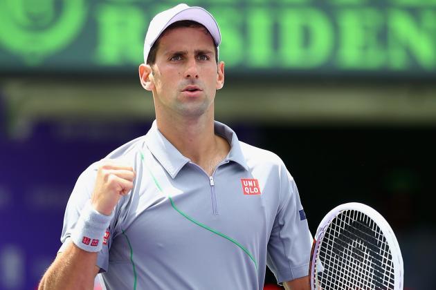 Novak Djokovic vs. Tommy Robredo: Score and Recap from 2014 Miami Masters