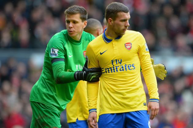 Arsenal vs. Swansea City: Live Player Ratings for the Gunners