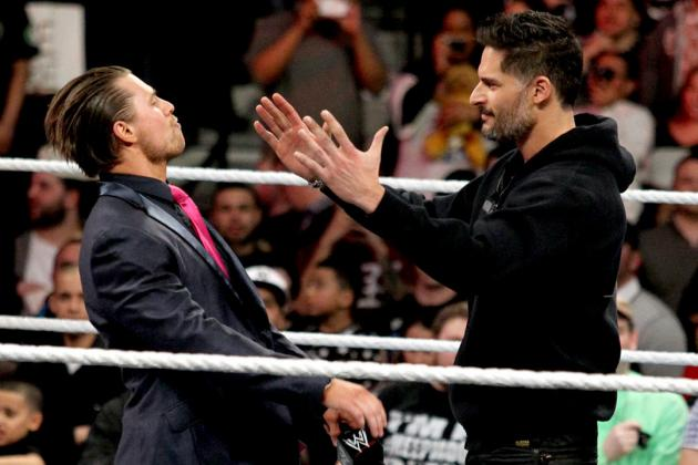 Joe Manganiello on Being a WWE Fan, Sabotage, MMA Training and More