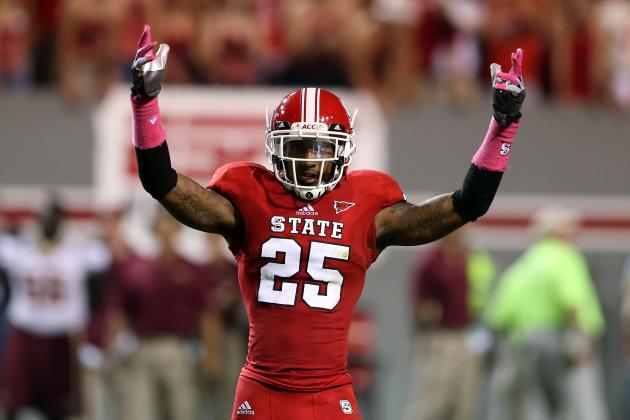 Former NC State Cornerback Dontae Johnson Has Size, Speed NFL Seeks