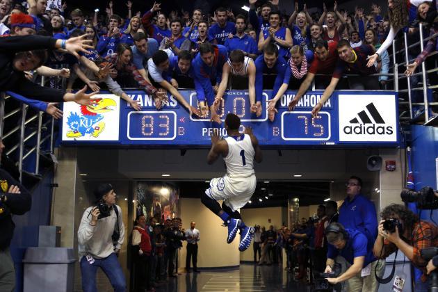 Kansas Basketball: Wayne Selden Jr. to Return for Sophomore Season