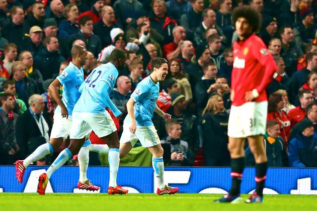 Man United vs. Man City: Premier League Live Score, Highlights, Report