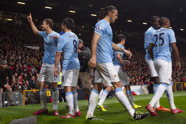 Twitter Reacts to Manchester City's Derby Destruction of Manchester United