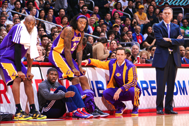 Steve Nash 'Wouldn't Disagree' Kobe Bryant and Mike D'Antoni Don't Work Together