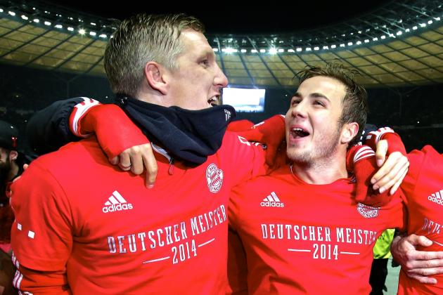 Bayern Munich Crowned Bundesliga Champions After Win vs. Hertha Berlin