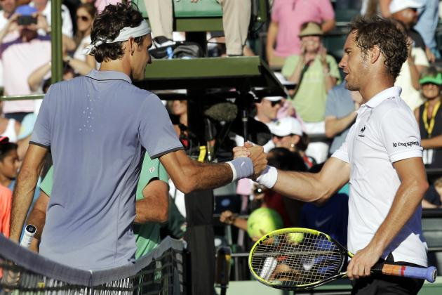 Roger Federer vs. Richard Gasquet: Score and Recap from 2014 Miami Masters