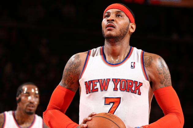 What Does Carmelo Anthony Need from NY Knicks to Return?