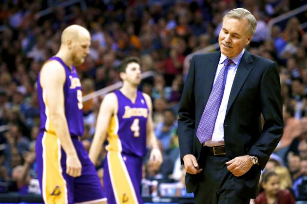 Chris Kaman Says He Hasn't Talked to Mike D'Antoni in 3 Weeks