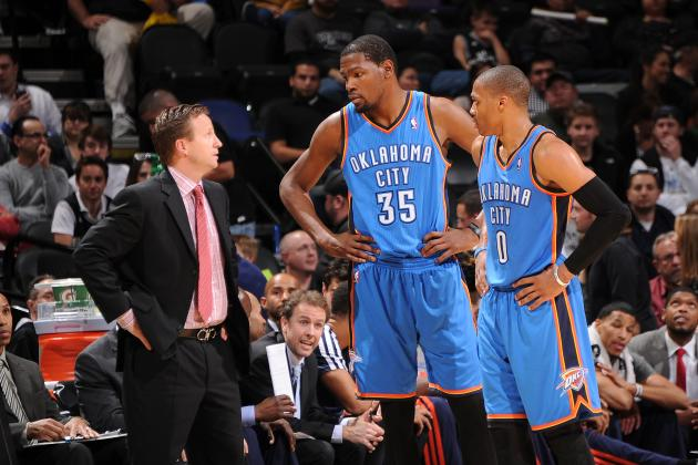 Building the Ideal Playoff Rotation for the Oklahoma City Thunder