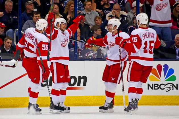 Detroit Red Wings Will Need to Beat NHL's Best to Make 2013-14 Playoffs