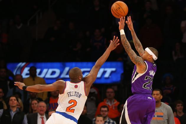 New York Knicks vs. Sacramento Kings: Live Score and Analysis