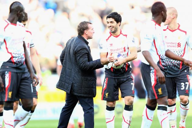 Liverpool Transfer News: Luis Suarez Exit Ruled out by Brendan Rodgers