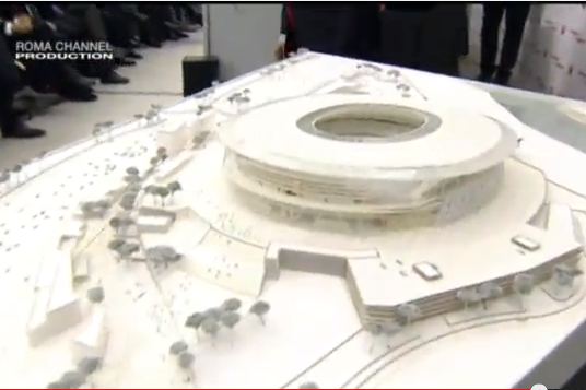 AS Roma Reveal Plans for New, 52,000-Seater Stadio Della Roma Stadium