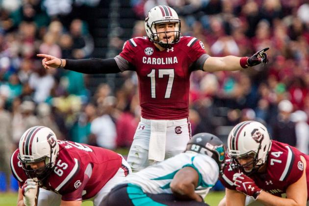 Steve Spurrier's Confidence in Dylan Thompson Bodes Well for 2014
