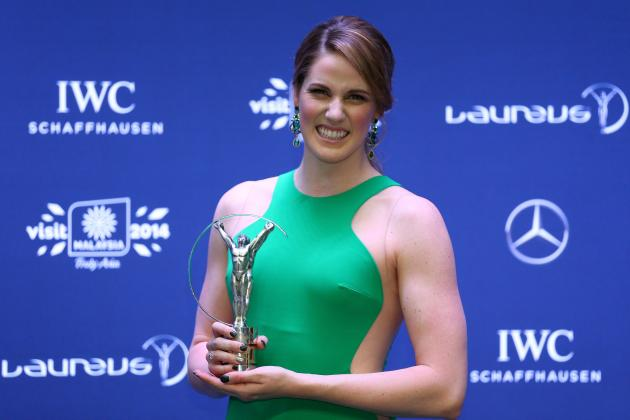 2014 Laureus Sport Awards: Missy Franklin & Sebastian Vettel Win Top Prizes