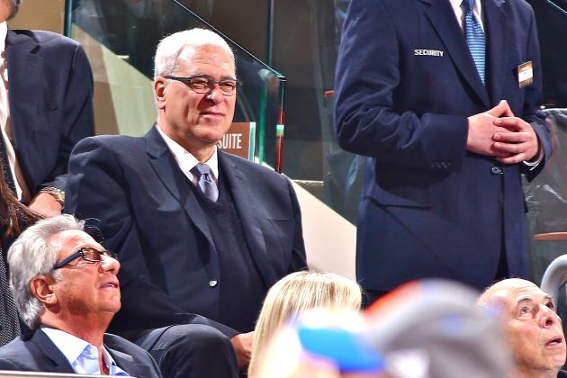 Phil Jackson Rips New York Knicks' 'Awful' Showing vs. Los Angeles Lakers