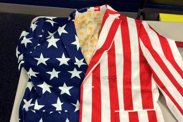 Jonny Gomes Orders Patriotic Blazers for Red Sox White House Visit