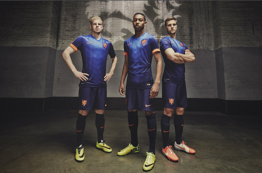 Nike Unveil New Dutch World Cup Away Kit
