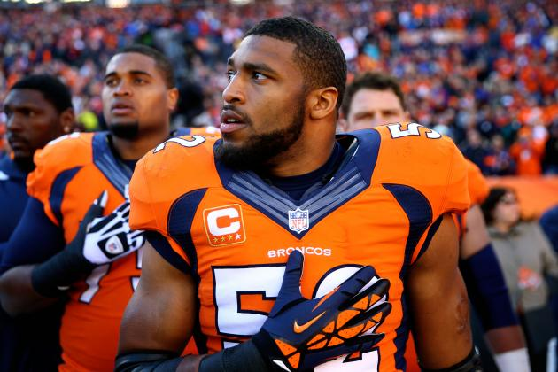 Wesley Woodyard Says Benching by Jack Del Rio Rubbed Him Wrong