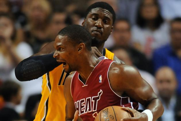 Bosh on Matchup with the Indiana Pacers: 'Now They're Important'