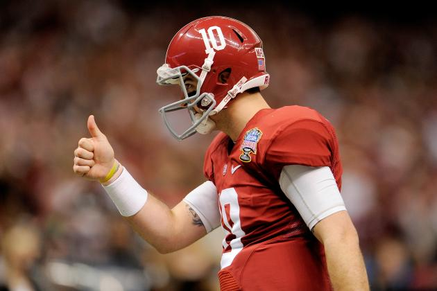 Look for Quarterback AJ McCarron's Draft Stock to Rise