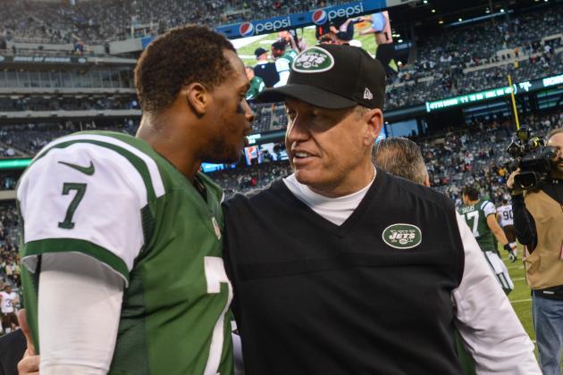 Rex Ryan Talks Jets Quarterbacks in Orlando