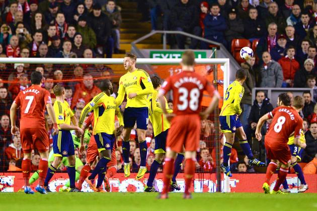 Liverpool vs. Sunderland: Premier League Live Score, Highlights, Report