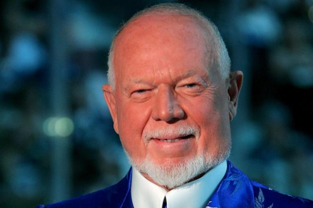 Don Cherry Takes Issue with Toronto Maple Leafs Signing College Player