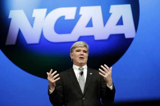 NCAA vs. Big-Time Football Conferences in Groundhog Day